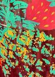 конструкция co вытравила orful Стоковая Фотография RF