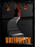конструкция halloween искусства Стоковое Фото