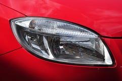 Конструкция headlamp автомобиля Стоковое фото RF