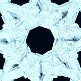 Конструкция Star City льда Стоковые Фото
