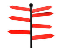 консультативный красный цвет Стоковая Фотография