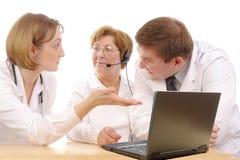 консультация медицинская Стоковое Изображение RF