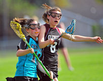 контакта lacrosse спорт non стоковое фото rf
