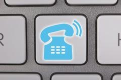 контактируйте почту позвоните по телефону нам Стоковые Изображения RF