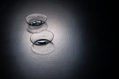 контактные линзы стоковые фотографии rf