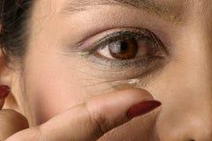 контактные линзы Стоковые Изображения