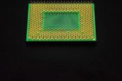 Контакты процессора для персонального компьютера стоковые изображения rf