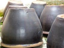 Контейнеры вина Wu zhen Стоковые Фотографии RF