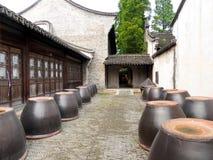 Контейнеры вина Wu zhen Стоковые Фото