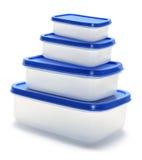 контейнеры пластичные Стоковые Фотографии RF