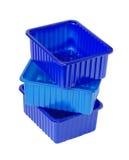 контейнеры пластичные Стоковая Фотография