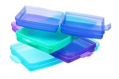 контейнеры пластичные Стоковое Фото