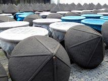 Контейнеры соевого соуса Wuzhen Стоковые Изображения
