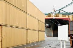 контейнеры Стоковое Изображение