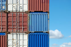 контейнеры Стоковая Фотография