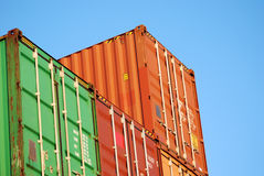 контейнеры Стоковое фото RF
