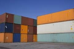 контейнеры стоковое изображение rf