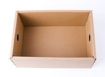 Контейнер коробки картонной коробки Стоковые Фото