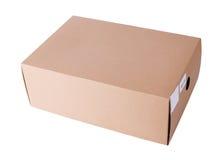 Контейнер коробки картонной коробки Стоковое Изображение RF