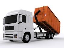 Контейнер мусорного контейнера иллюстрация штока