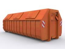 Контейнер мусорного контейнера иллюстрация вектора