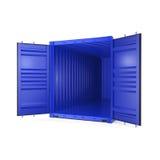 контейнер перевода 3D иллюстрация вектора