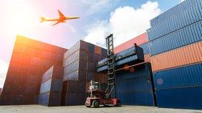 контейнер промышленный Стоковое Изображение