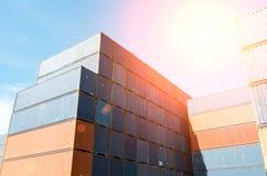 контейнер промышленный Стоковое Фото