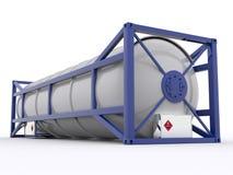 контейнер танка 30ft бесплатная иллюстрация