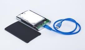 Контейнер для жёсткого диска Стоковые Фотографии RF