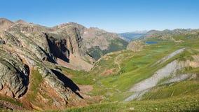 Континентальный Divide в Колорадо, США стоковое изображение