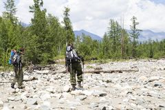 Контролеры национального парка на работе Стоковая Фотография RF