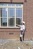 контролер здания стоковое изображение