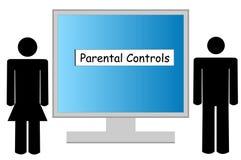 контролирует родительское Стоковая Фотография RF