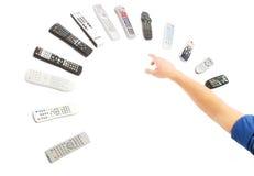 контролирует remote Стоковое Изображение RF