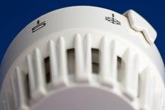 контролируйте жару термостатическую к клапану стоковые фотографии rf