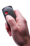 контролируйте отжимать remote Стоковое Изображение RF
