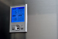 контролируйте панель холодильника Стоковые Фотографии RF