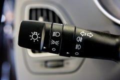 контролируйте поворот индикатора стоковое фото