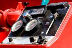 контролируйте пожар двигателя Стоковые Фото