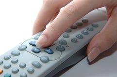 контролируйте работая remote Стоковое фото RF