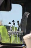 контролируйте рукоятки землечерпалки Стоковое Изображение RF