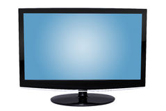 контролируйте телевидение стоковое фото rf