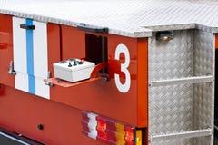 контролируйте тележку панели пожара Стоковые Фото