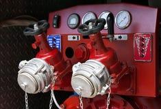 контролируйте тележку панели пожара стоковое фото rf