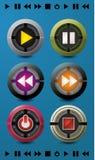 Контролируйте шарик кнопки Стоковые Изображения RF