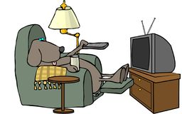 контролируйте remote собаки Стоковое Изображение