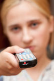 контролируйте remote стоковые фото