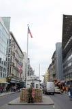 контрольный пункт berlin Чарли Стоковое Изображение RF