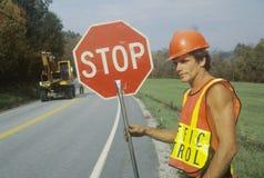 Контроль над трафиком Стоковая Фотография RF